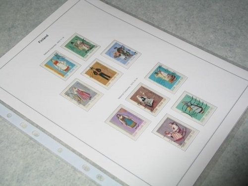 album de timbres