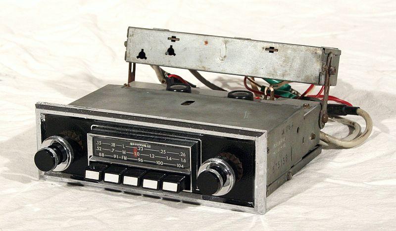 autoradio à cassettes